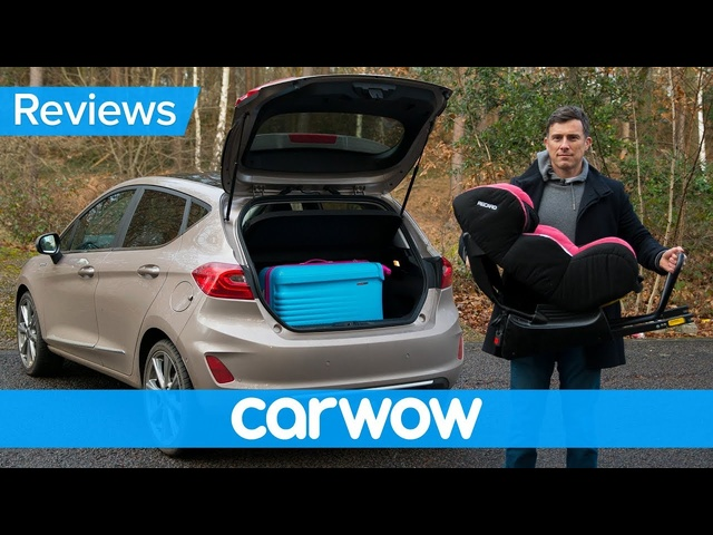 <em>Ford</em> Fiesta 2018 practicality review | Mat Watson Reviews