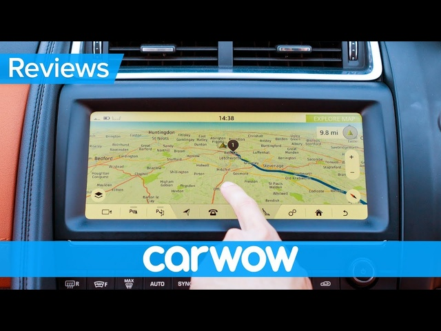Jaguar E-Pace SUV 2019 infotainment and interior review | Mat Watson Reviews