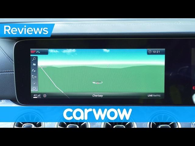 <em>Mercedes</em> CLS 2019 infotainment & interior review | Mat Watson Reviews
