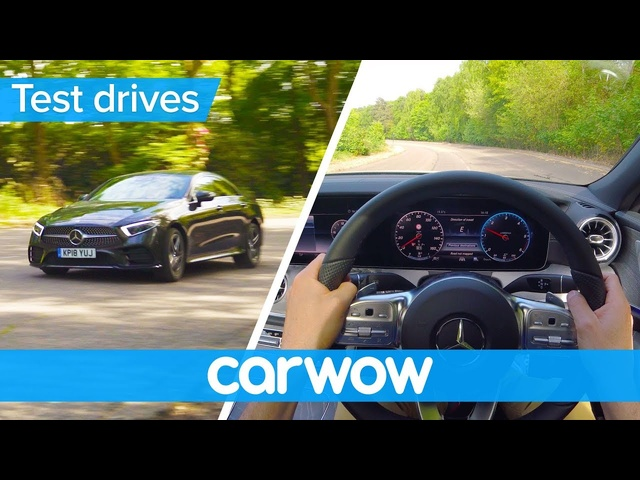 Mercedes CLS 2019 point of view | Test Drives