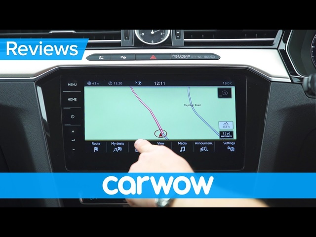 Volkswagen Arteon 2018 infotainment and interior review | Mat Watson Reviews