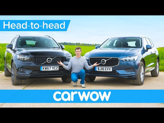 <em>Volvo</em> XC40 vs XC60 review - which is the better buy? | Head-to-Head