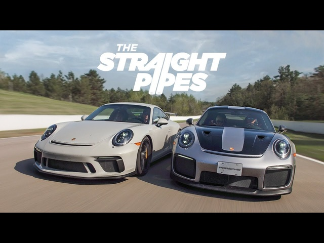 Porsche GT2RS, GT3 and 911 Carrera T on Track - Porsche Driving Experience