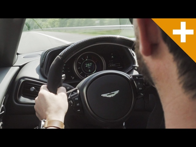 EXCLUSIVE: Aston Martin DB11 AMR, 178mph Autobahn Run - Carfection +