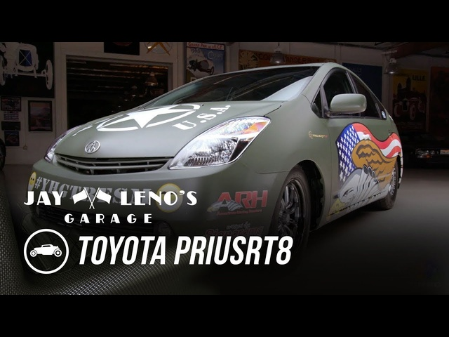 Hellcat-Powered <em>Toyota</em> PriuSRT8 - Jay Leno's Garage