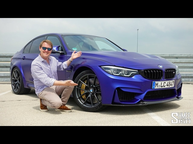 THIS is the New <em>BMW</em> M3 CS! | FIRST DRIVE