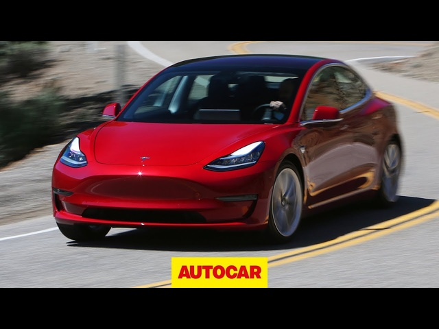 2018 <em>Tesla</em> Model 3 Review - Enough to beat a BMW or Mercedes? | Autocar