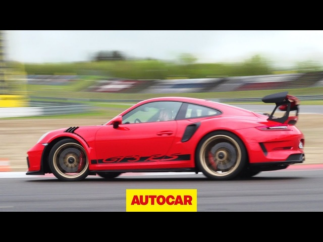 <em>Porsche</em> 911 GT3 RS 2018 review | 513bhp roadgoing racer tested | Autocar