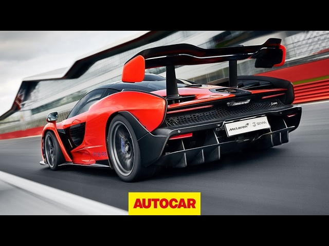 McLaren Senna driven | 789bhp hypercar on track at Silverstone | Autocar