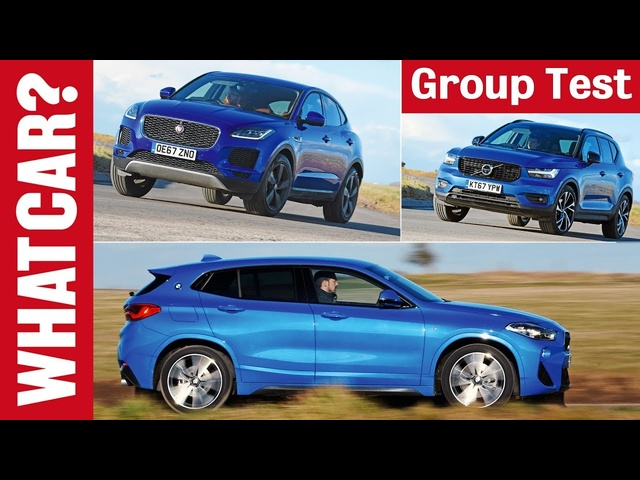 BMW X2 vs Volvo XC40 vs <em>Jaguar</em> E-Pace review – which 2020 4x4 SUV is best? | What Car?
