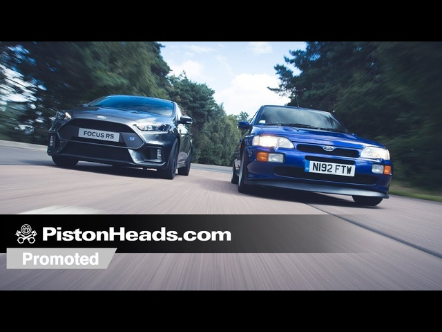 Promoted: <em>Ford</em> Focus RS vs Escort RS Cosworth