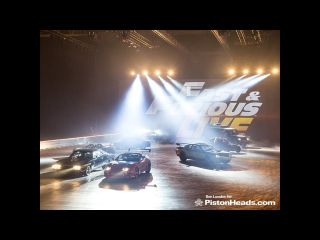 Behind the scenes at Fast and Furious Live!