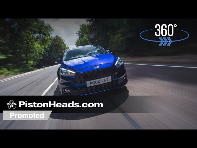 Promoted: Take a 360-degree ride in the Ford Focus ST
