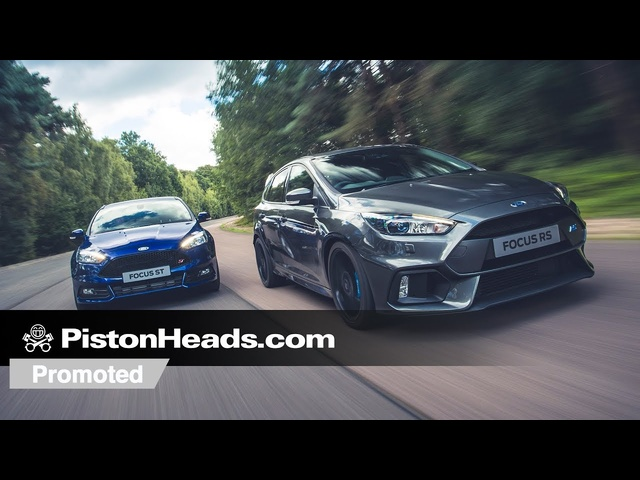 Promoted: Ford Focus ST vs. Focus RS