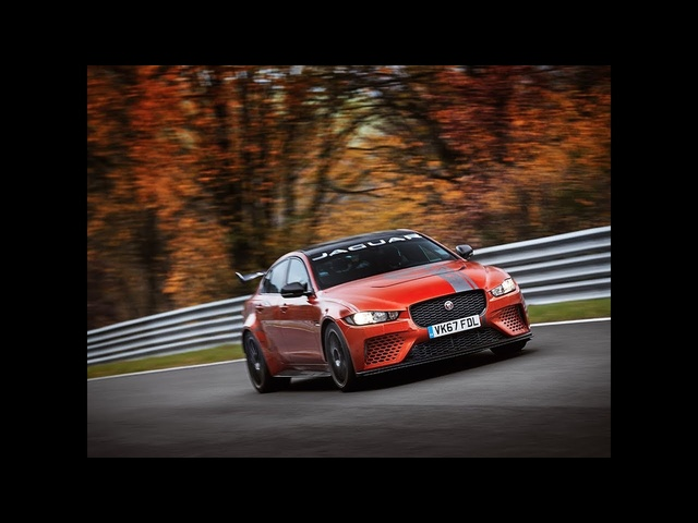 Jaguar XE SV Project 8 sets Nurburgring lap record