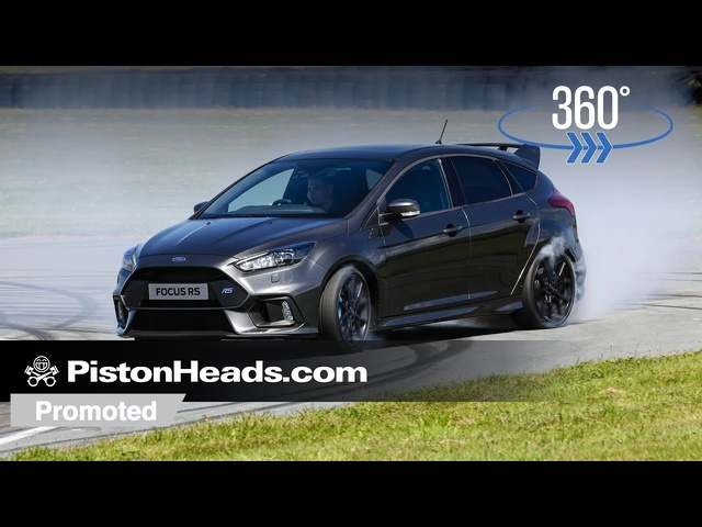 Promoted: Take a 360-degree ride in the Focus RS