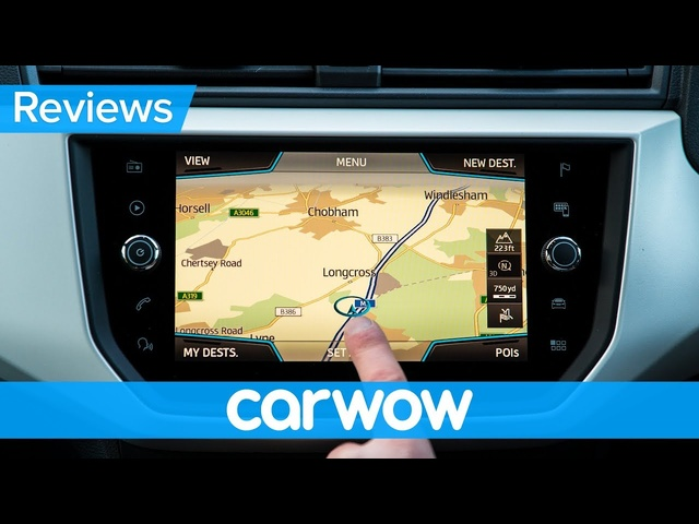 SEAT Arona SUV 2019 interior & infotainment review | Mat Watson Reviews