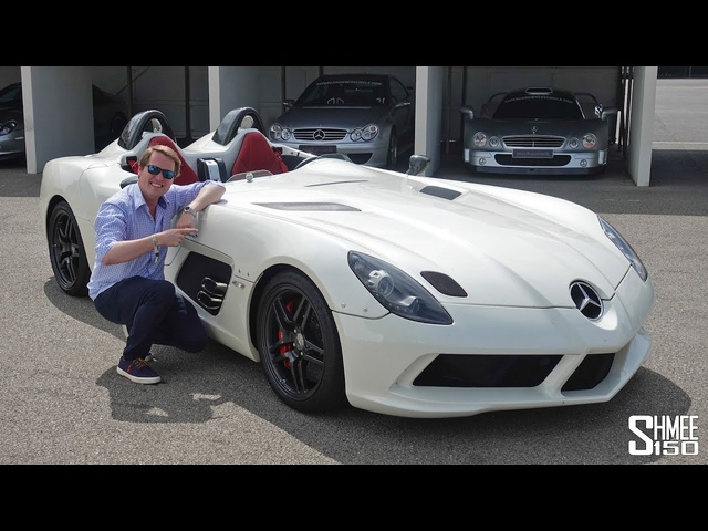Flat Out with the £2.5m Mercedes SLR Stirling Moss!