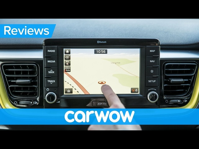 <em>Kia</em> Stonic SUV 2019 interior & infotainment review | Mat Watson Reviews