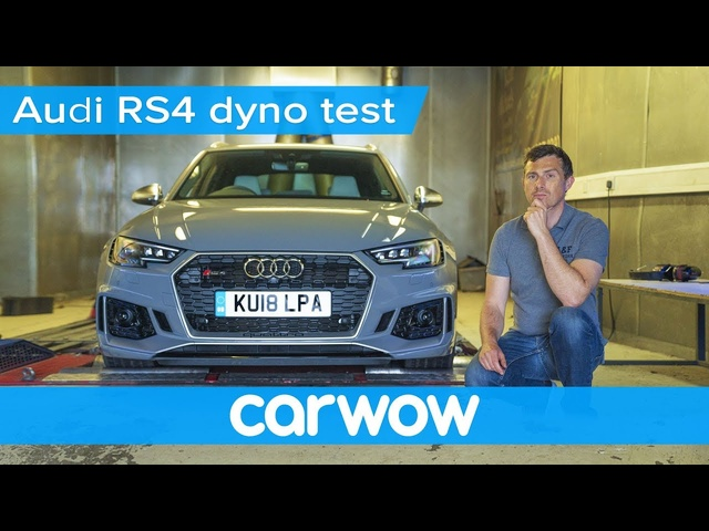 Audi RS4 dyno test - how much power does it actually have? | Mat Vlogs
