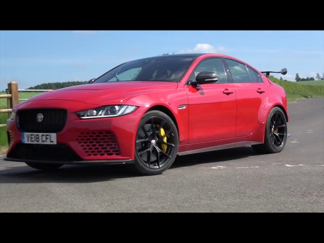 600bhp Jaguar XE Project 8 pre-production drive and review