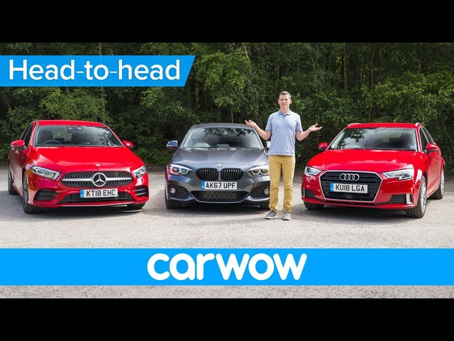 Mercedes A-Class vs BMW 1 Series vs <em>Audi</em> A3 2019 review - which is the best premium small car?