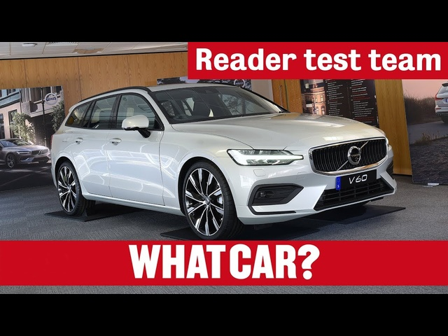 2018 Volvo V60 estate | Reader test team | What Car?