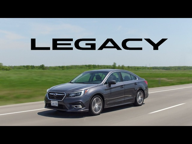 2018 Subaru Legacy 3.6R Review - So Comfortable, So Plain