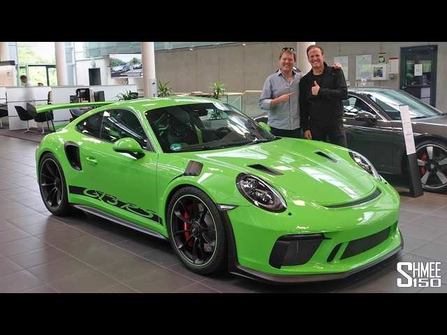 Collecting My Friend's New <em>Porsche</em> 911 GT3 RS!