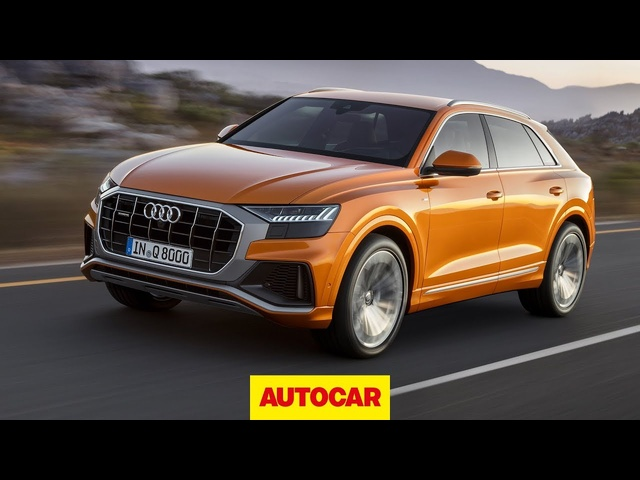 2019 <em>Audi</em> Q8 review | Is flagship SUV as good as a Porsche Cayenne? | Autocar