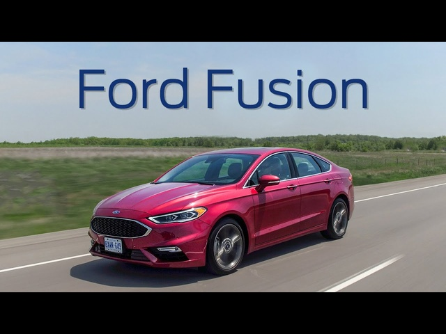 2018 <em>Ford</em> Fusion Sport Review - Sport Actually Means Something