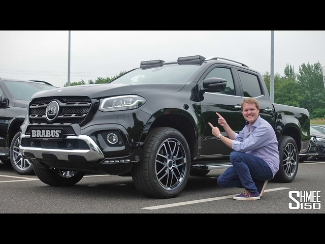 Can Brabus Make the X-Class a Proper Mercedes?