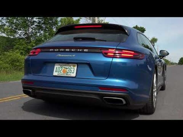 2018 Porsche Panamera 4 E-Hybrid Sport Turismo | Full Review | with Steve Hammes