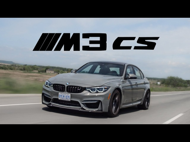 2018 <em>BMW</em> M3 CS Review - The Best M3