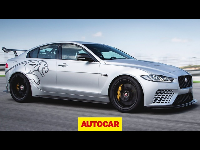 <em>Jaguar</em> XE SV Project 8 - 592bhp super saloon 2018 review | Autocar