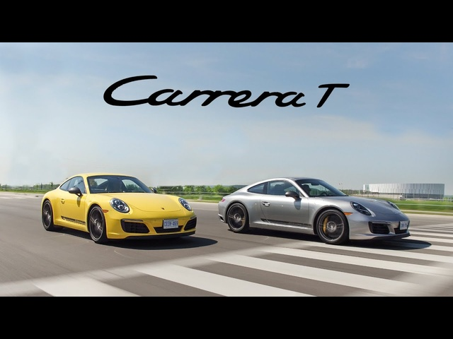 2018 <em>Porsche</em> 911 Carrera T Manual vs PDK Review - The Purist <em>Porsche</em>