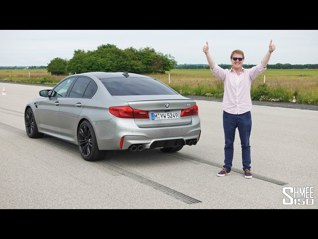 The BMW M5 is a Tyre Smoking Monster! | EXPERIENCE