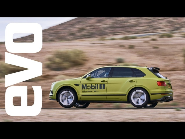 Bentley Bentayga claims Pikes Peak SUV record: in-car footage