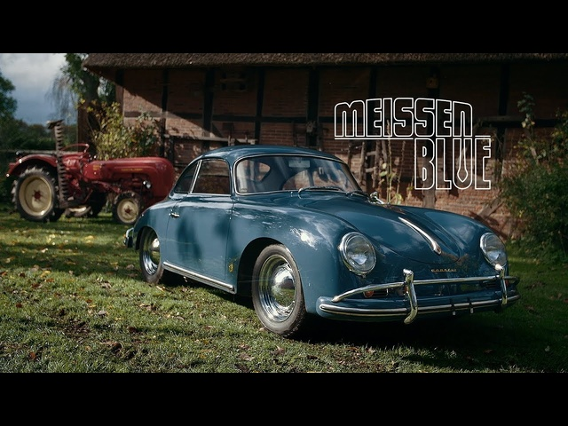 1958 <em>Porsche</em> 356A 1600 Super: Meissen Blue, Not Messed With