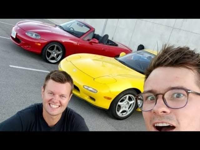 Live With Mazda RX7 And Mazdaspeed Miata (will delete this in 24hrs)