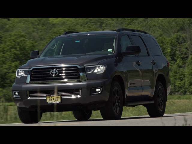 2018 <em>Toyota</em> Sequoia TRD Sport | The Best 3rd Row? | Steve Hammes | TestDriveNow