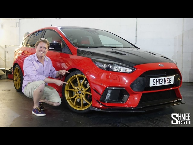 My 'Red Rocket' Focus RS has Gold Wheels! | PROJECT PART 3