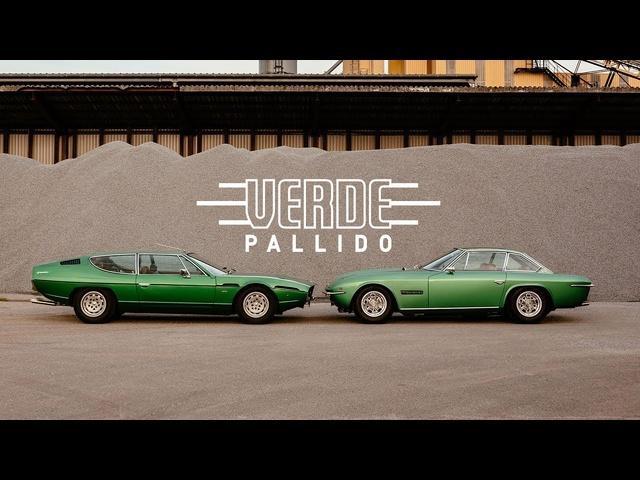 Lamborghini Espada Joins Islero In Matching Metallic Wonderland