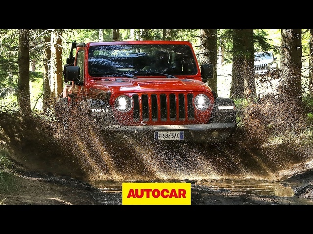 2018 <em>Jeep</em> Wrangler Rubicon - 4x4 Off-Road Review | Autocar