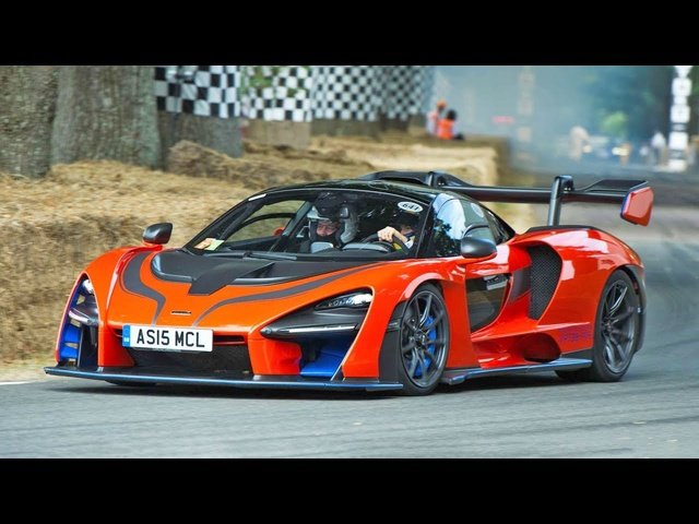 The McLaren Senna Goes WILD!