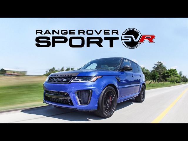 2018 Range Rover Sport SVR Review - The BEST sounding SUV