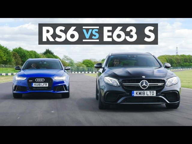 <em>Audi</em> RS6 vs Mercedes-AMG E63 S - Carfection