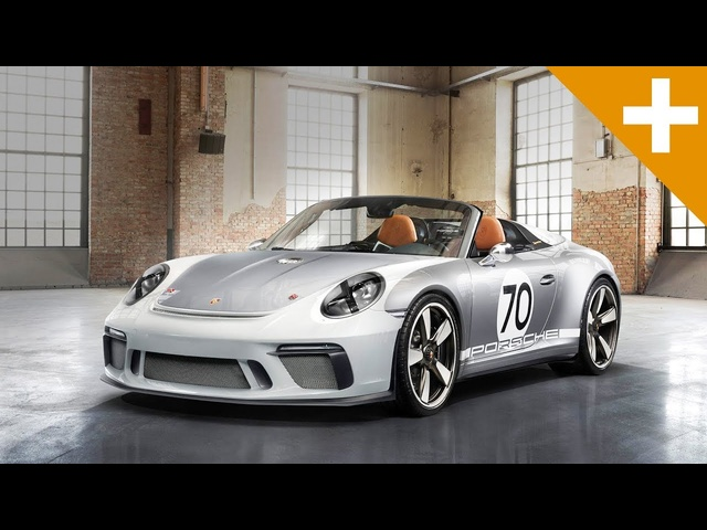 Porsche 911 Speedster Concept: Andreas Preuninger Tells Us EVERYTHING - Carfection