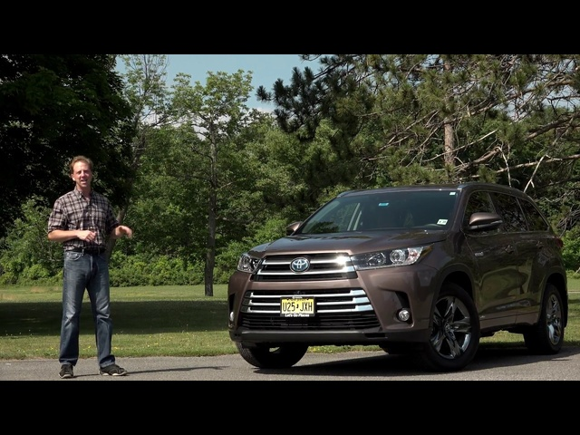 2018 Toyota Highlander Hybrid | The Best Family Mover? | Steve Hammes