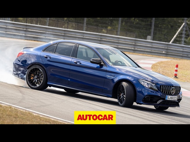 2019 Mercedes-AMG C63 S driven | 503bhp 4.0-litre V8 on track | Autocar